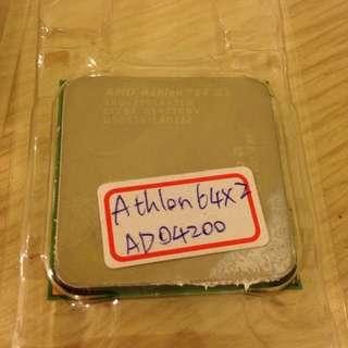 AMD AM2 雙核心 CPU.AMD Athlon 64 X2 4200 二百五含運