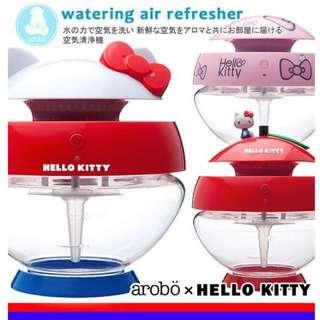 日本kitty水氧機/水洗機/清淨空氣機