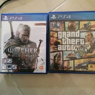 Gta 5 N The Witcher 3 Used