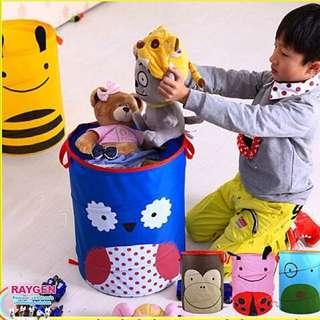 玩具 收納 可愛卡通 動物 收納籃