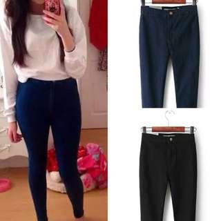 [PO WP04] Topshop Inspired Denim High Waist Skinny Cut Jeans