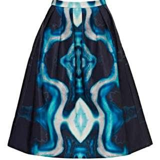 Kookai Sonic Midi Skirt Size 36