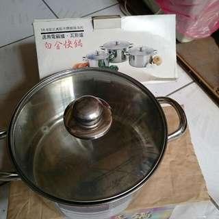 不銹鋼鍋 約25cm
