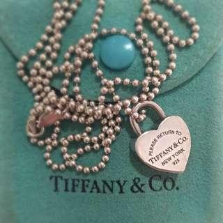 Tiffany Heart Lock