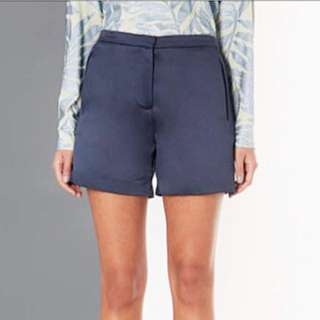 Topshop Inspired Maroon Disco High Waisted Shorts