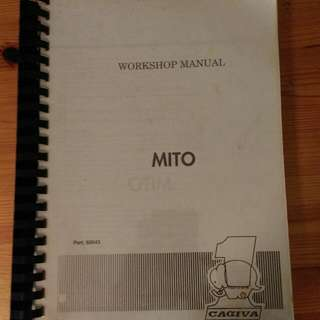 Cagiva Mito Workshop Manual