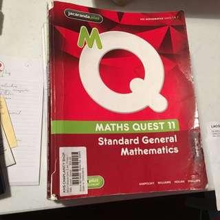 Standard Further/General Maths Book