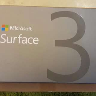 Microsoft Surface 3 RT - 128gb For Sale