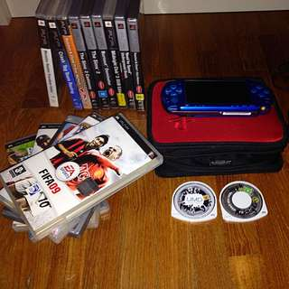 Playstation Portable (PSP) And Games