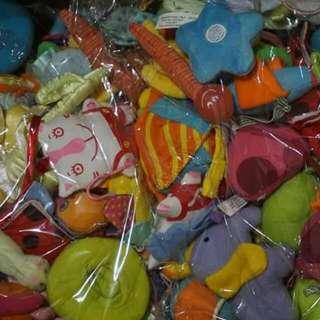 【消費🈵五百就免運】🚼【全新】不挑款任三個99元!  寶寶的可愛安撫小玩具