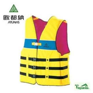 ✨欣欣運動用品✨ 歐都納 美洲型救生衣 含收納袋