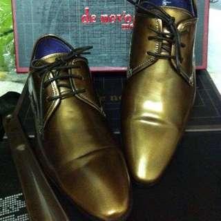 🚚 香港訂製 正牛皮紳士鞋 9.5成新