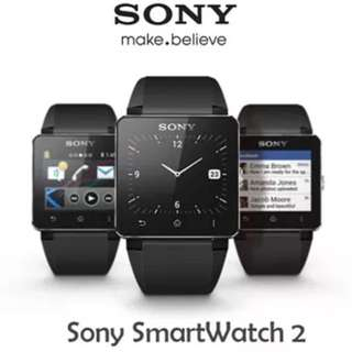 Sony SW2 SmartWatch 2 (Preloved 95% condition)