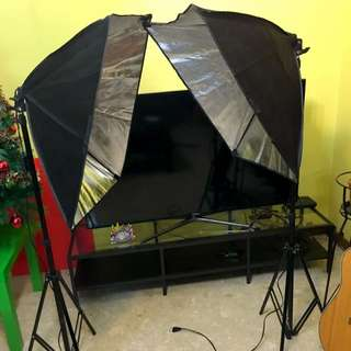 Softbox Continous Studio Light 2x