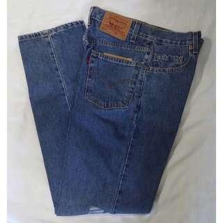 Levi's 550 jeans, W 29
