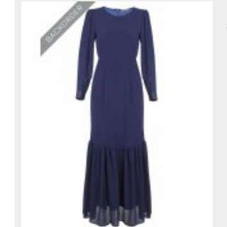 BNIP Chiffon Maxi Dress
