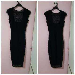 ASOS Midi Bodycon Lace Dress