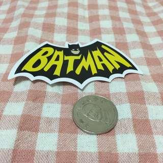 蝙蝠俠 防水貼紙 筆電 行李箱 旅行箱