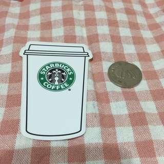 星巴克外帶杯 Starbucks 防水貼 舊款logo 筆電 行李箱 旅行箱