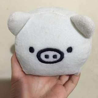 小白豬超可愛手機座