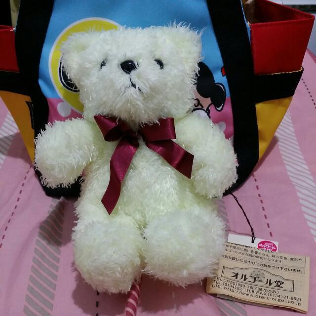 檸檬黃音樂盒熊熊