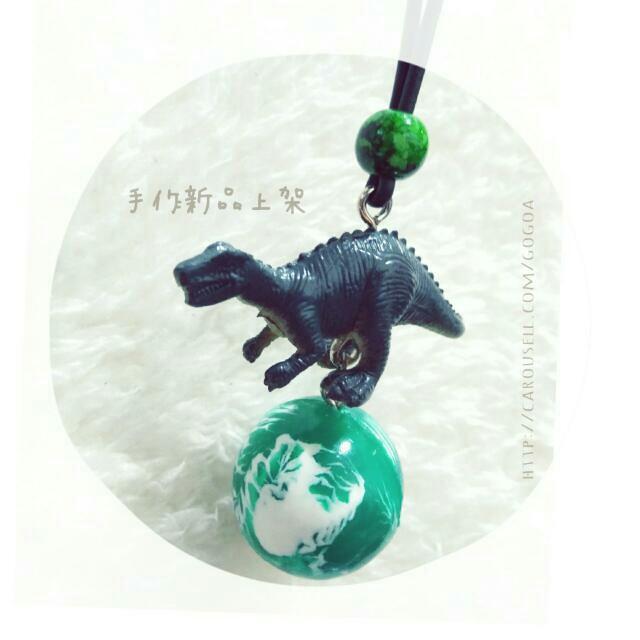 【龍龍の日常】手作恐龍星球麂皮項鍊