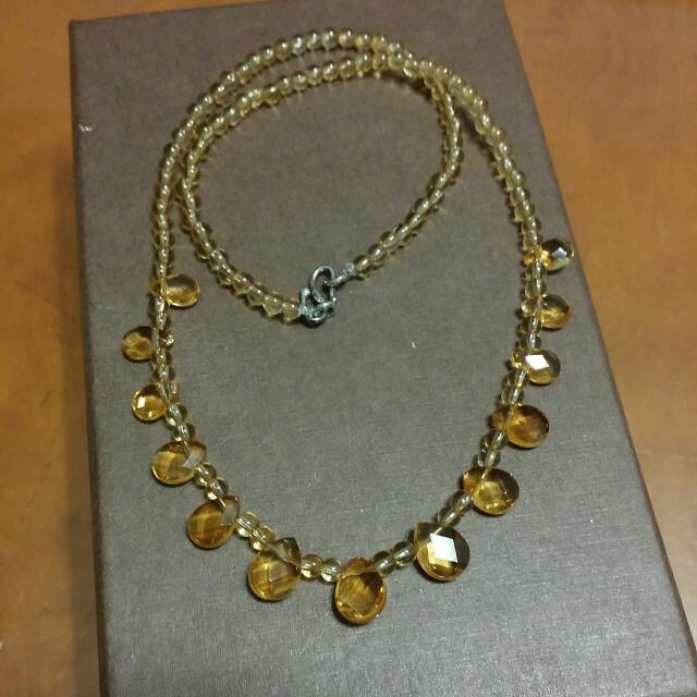 天然黃水晶+天然黃水晶手珠