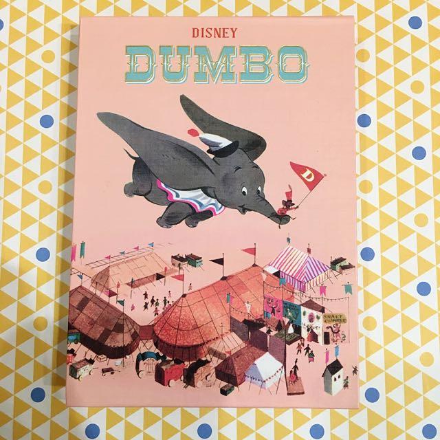迪士尼 小飛象Dumbo 復古 便條紙