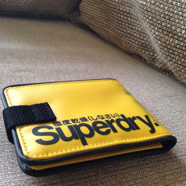 英國名牌極度乾燥 Superdry 運動型皮夾