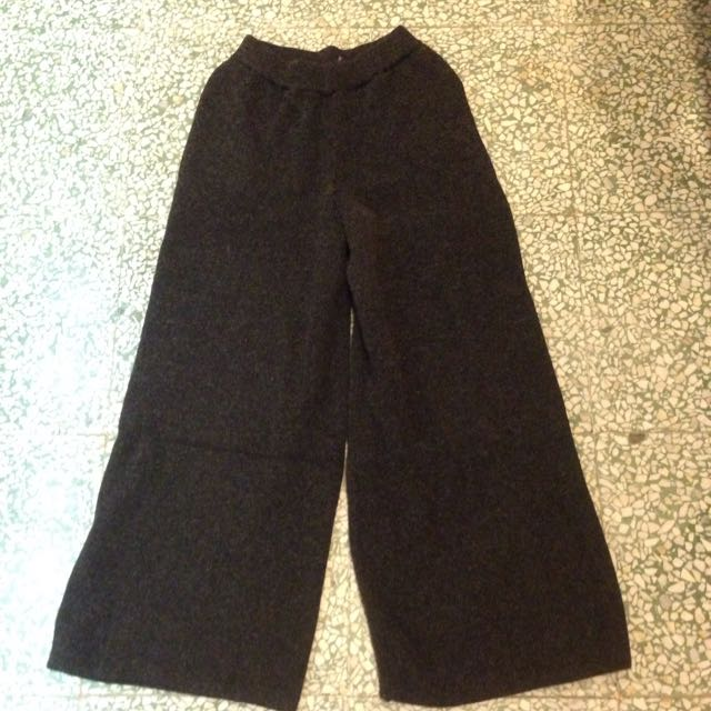 Bff80s 正韓針織寬褲