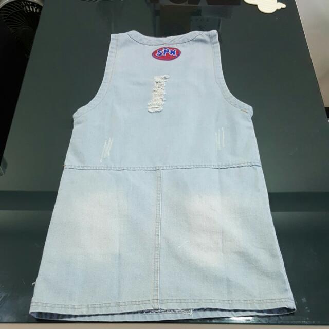BN Denim Pinafold Dress