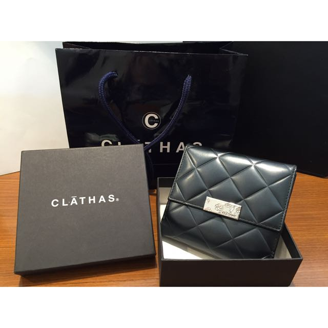 Clathas 日本小香 中夾 皮夾 含運