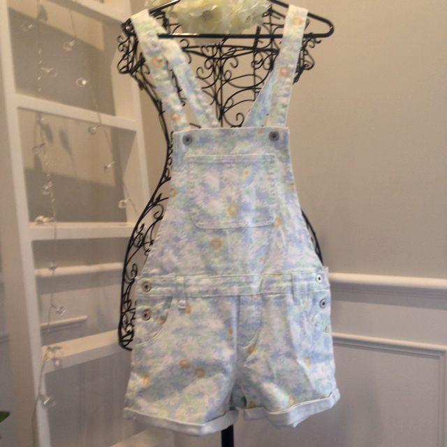 Floral Shortall/Overalls