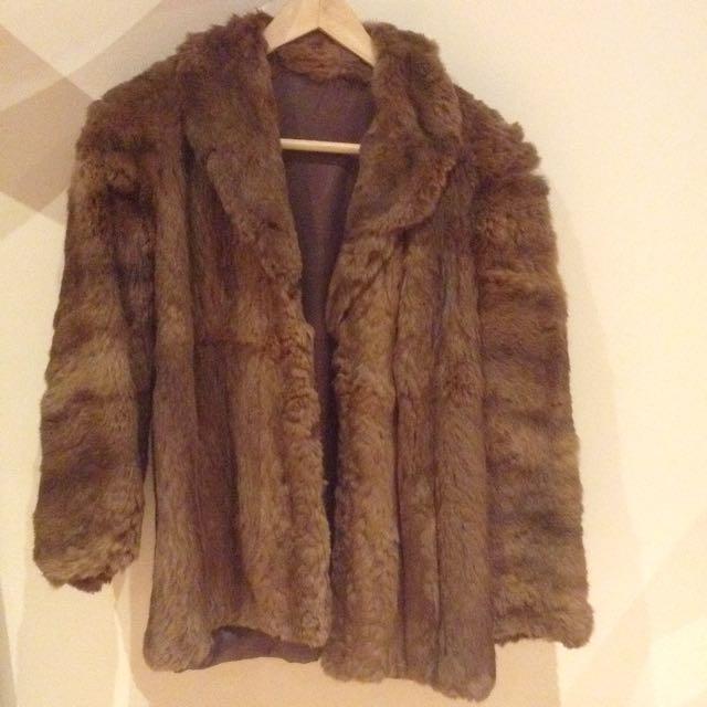 Gorgeous Vintage Fur Coat (Sml)