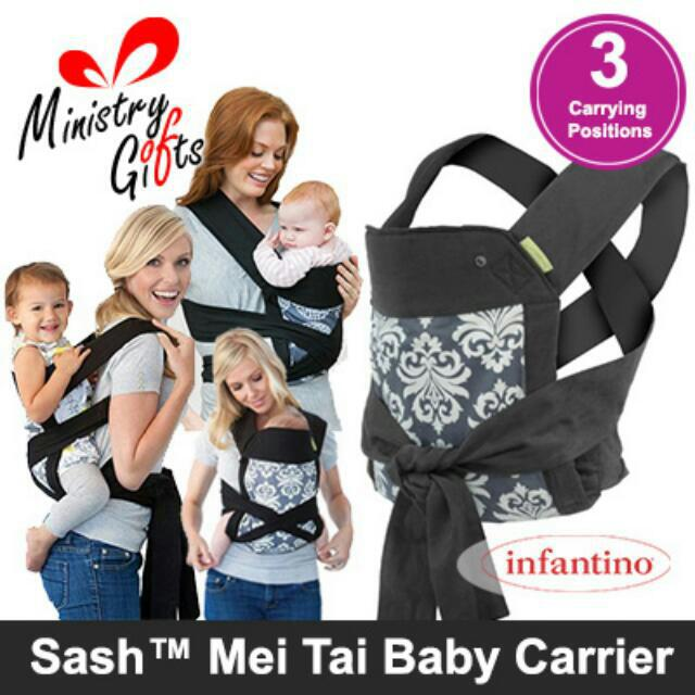 e367c5a8900 Special Offer!   Infantino  Sash Mei Tai Modern Damask Print Baby ...
