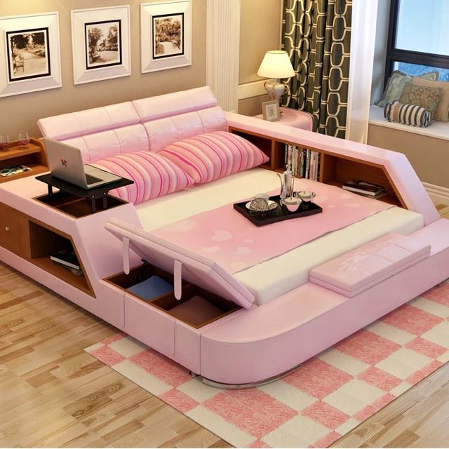 multifunction tatami bed, Furniture on Carousell