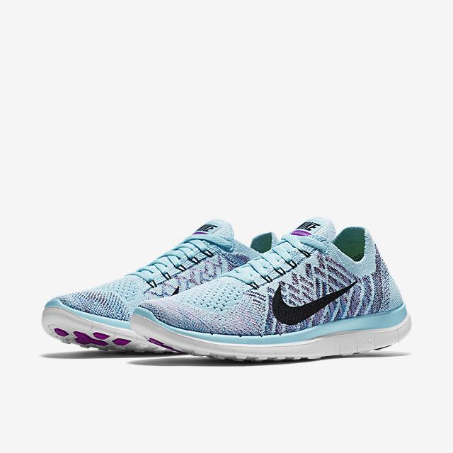 brand new 7b825 05fee Nike Free 4.0 Flyknit (Women) - Copa/Blue Lagoon/Grand ...