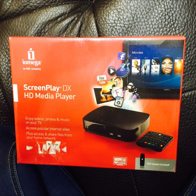 Screen Play DX HD Media Player
