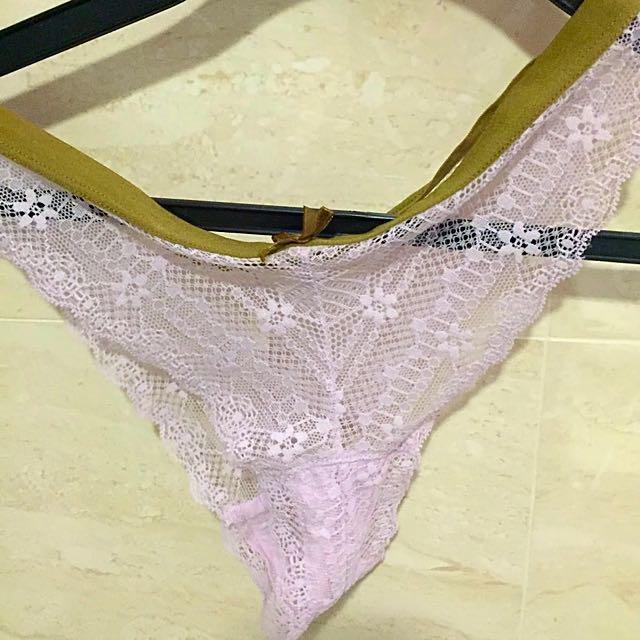 Sexy worn panties
