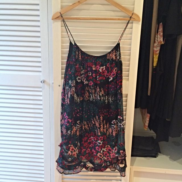 Zimmermann Size 1 Silk Dress RRP $400