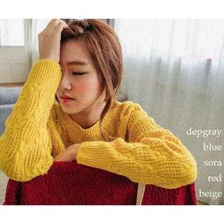 轉賣網拍厚針織毛衣