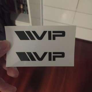 VIP 貼紙
