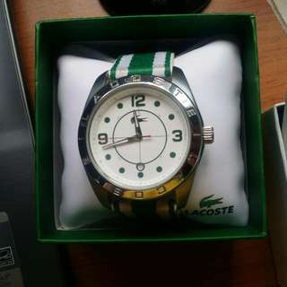 AUNTHENTIC LACOSTE WATCH