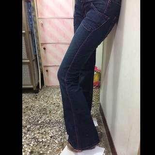 牛仔喇叭褲