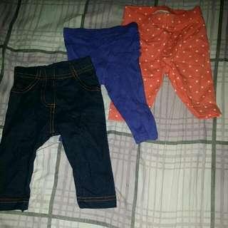 Baby Girl Pants Bundle