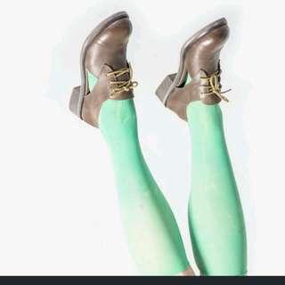 台灣設計製造馬利綠有型的皮鞋