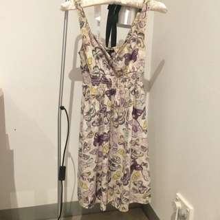 HM Butterfly Dress EUR 32