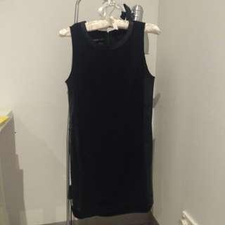 Mango Basics Shift Dress US 2