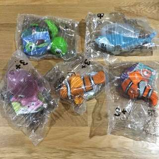 Finding Nemo Happy Meal Toys