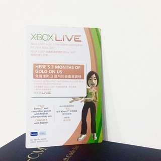 Xbox Live Gold 金會員 三個月 One / 360